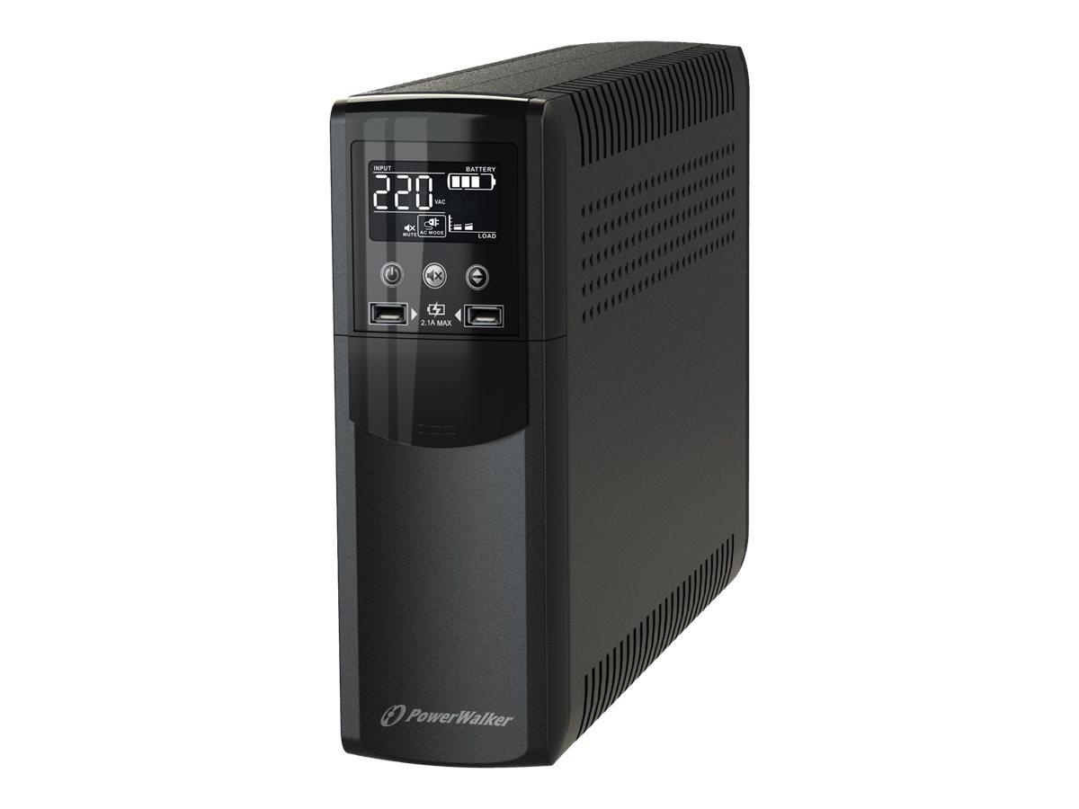 PowerWalker VI 800 CSW IEC - USV - Wechselstrom 170 - 280 V - 480 Watt - 800 VA 9 Ah
