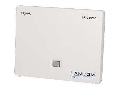 LANCOM DECT 510 IP - Basisstation für schnurloses VoIP-Telefon - DECT\GAP - SIP - 6 Leitungen - weiss