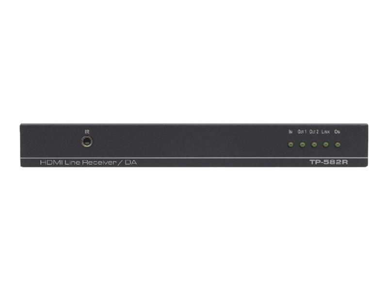 Kramer DigiTOOLS TP-582R - Video/Audio/Infrarot/seriell/Netzwerkextender - 100Mb LAN, HDMI - bis zu 130 m - 1U