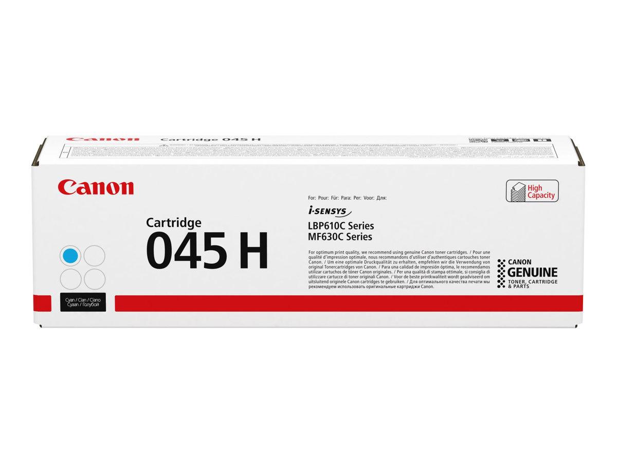 Canon 045 H - Mit hoher Kapazität - Cyan - Original - Tonerpatrone - für ImageCLASS LBP613, MF631, MF633, MF635; i-SENSYS LBP611