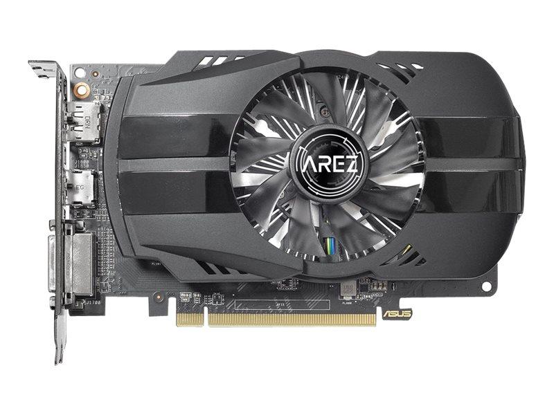ASUS AREZ-PH-RX550-2G - Grafikkarten - Radeon RX 550 - 2 GB GDDR5 - PCIe 3.0 x16 - DVI, HDMI, DisplayPort