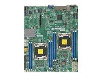 SUPERMICRO X10DRD-L - Motherboard - Erweitertes ATX - LGA2011-v3-Sockel - 2 Unterstützte CPUs - C612
