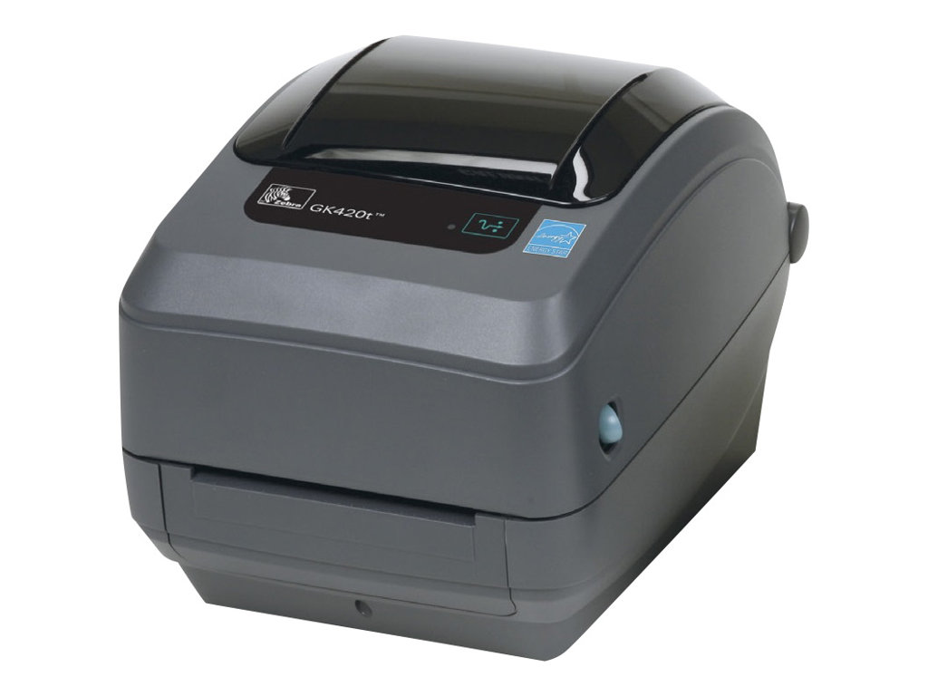Zebra GK Series GK420t - Etikettendrucker - Thermodirekt / Thermotransfer - Rolle (10,8 cm) - 203 dpi - bis zu 127 mm/Sek.