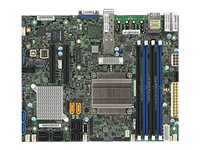 SUPERMICRO X10SDV-7TP4F - Motherboard - FlexATX - Intel Xeon D-1537 - USB 3.0 - 2 x 10 Gigabit LAN, 2 x Gigabit LAN