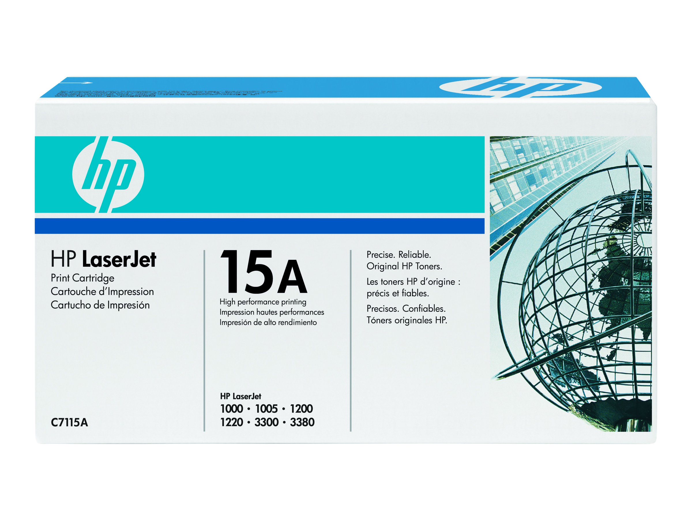 HP 15A - Schwarz - Original - LaserJet - Tonerpatrone (C7115A) - für LaserJet 1000, 1005, 1200, 1220, 3300, 3310, 3320, 3330, 33