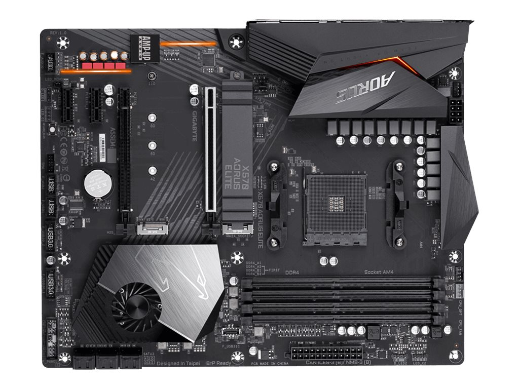 Gigabyte X570 AORUS ELITE - 1.0 - Motherboard - ATX - Socket AM4 - AMD X570