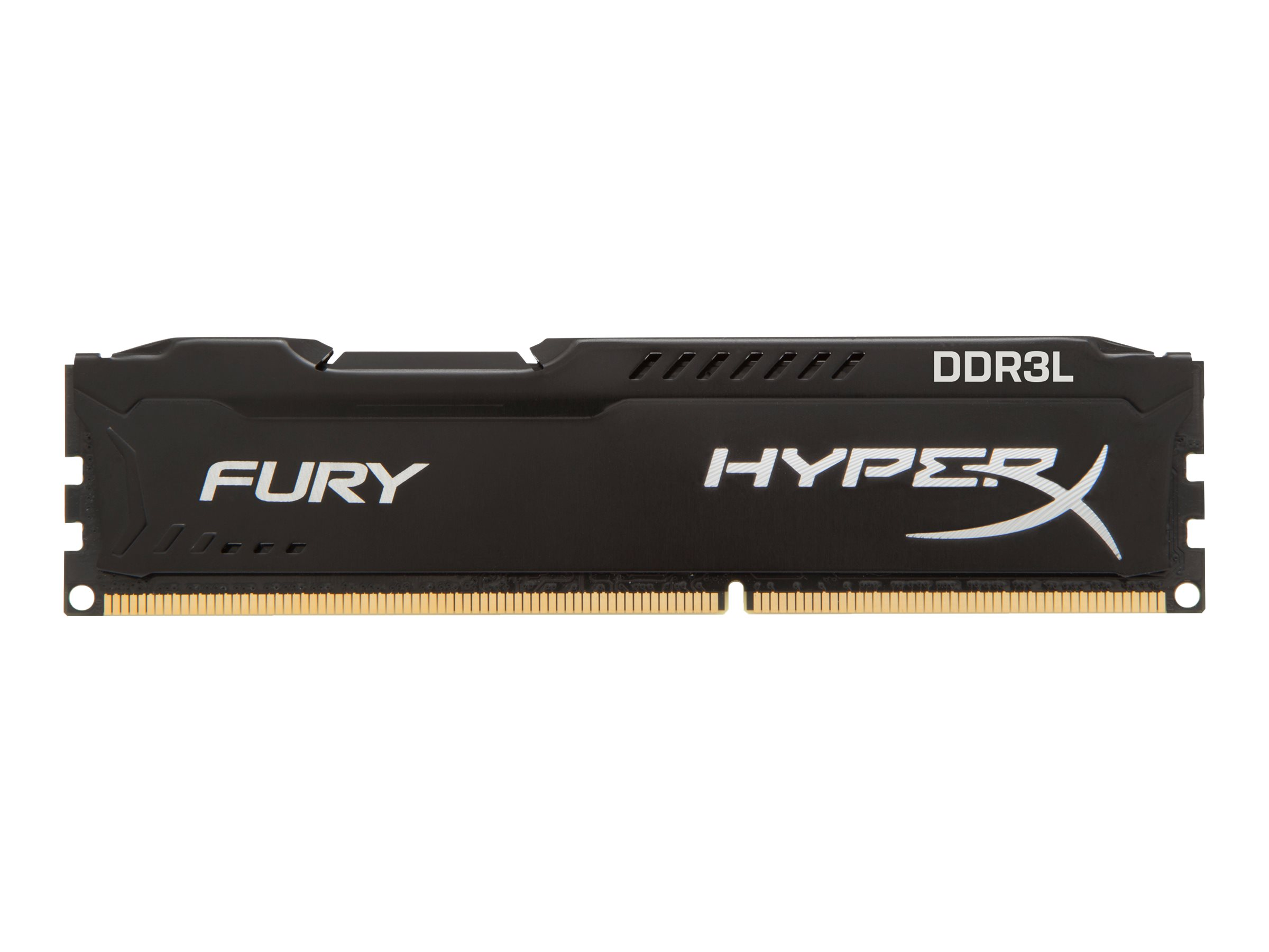 HyperX FURY - DDR3L - 16 GB: 2 x 8 GB - DIMM 240-PIN - 1600 MHz / PC3L-12800 - CL10