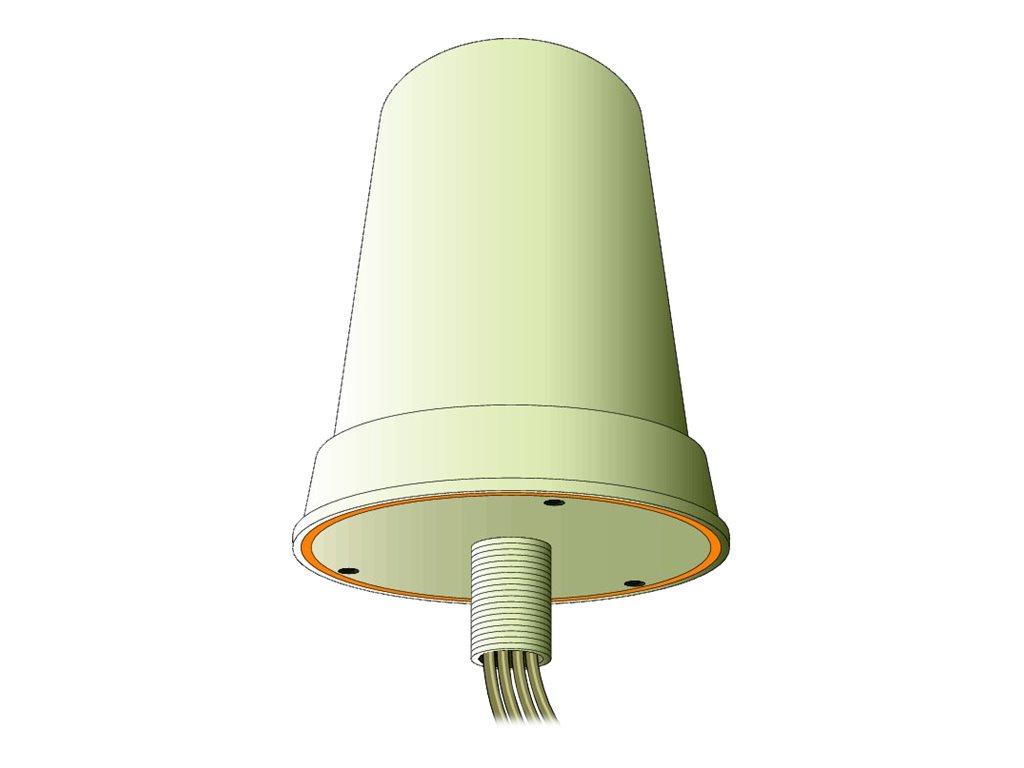 Cisco Aironet Dual-Band MIMO Wall-Mounted Omnidirectional Antenna - Antenne - 4 dBi - ungerichtet - aussen, Wandmontage möglich,