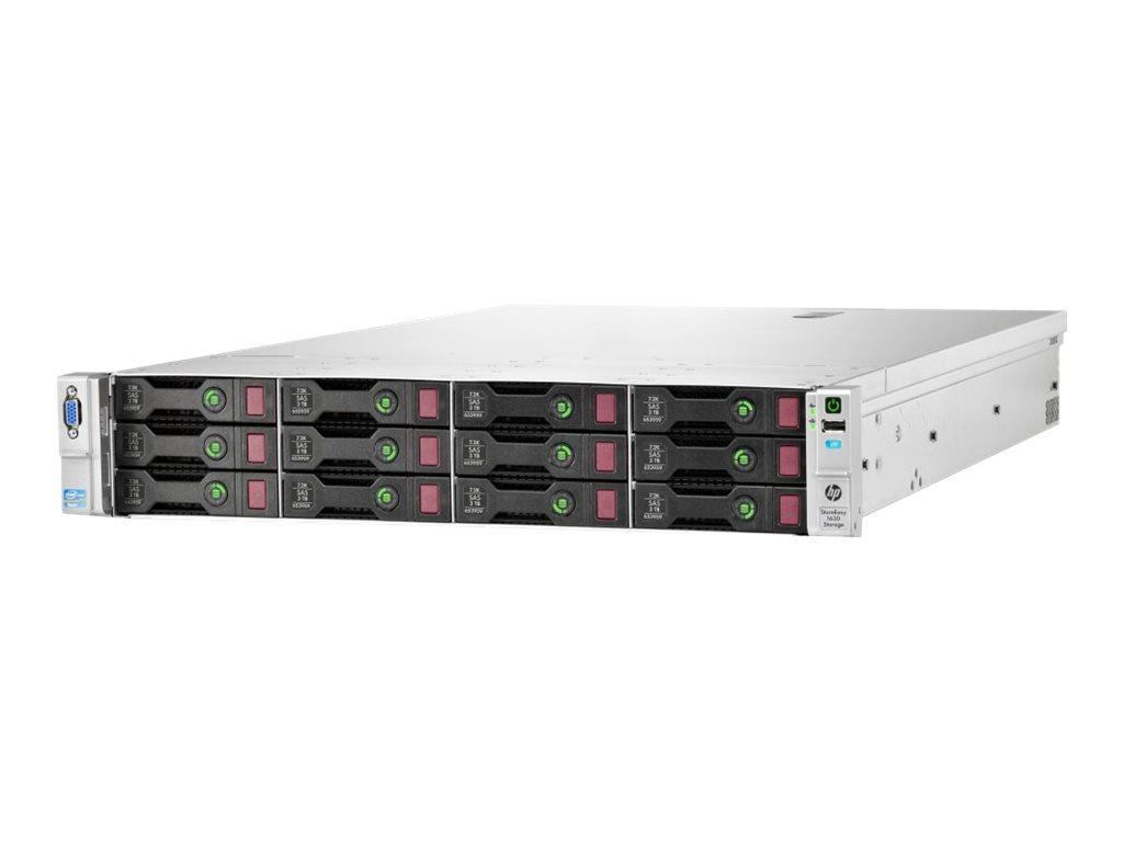 HPE StoreEasy 1630 - NAS-Server - 14 Schächte - Rack - einbaufähig - SATA 6Gb/s / SAS 6Gb/s