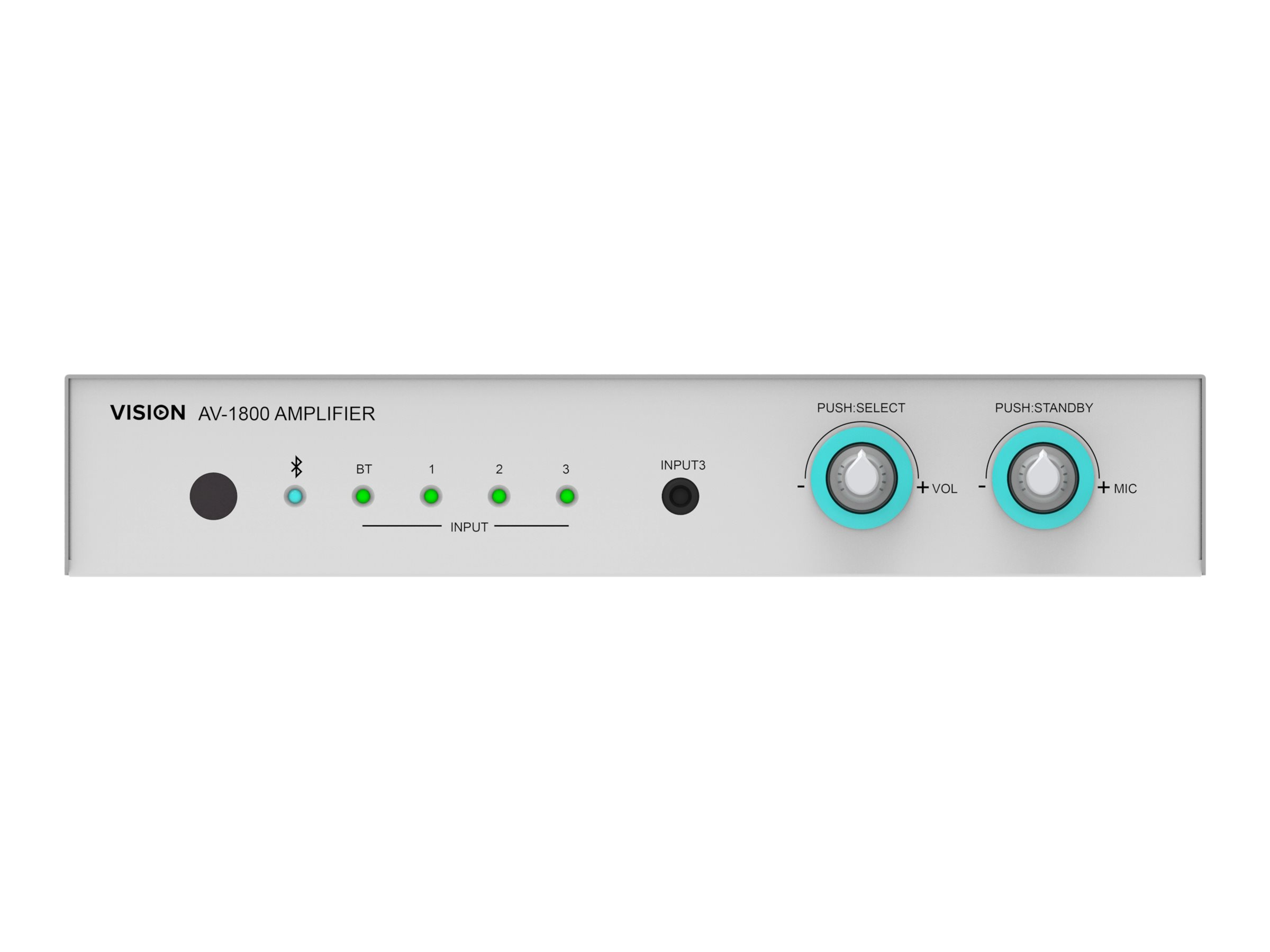 Vision AV-1800+SP1800 - Audiosystem - weiss