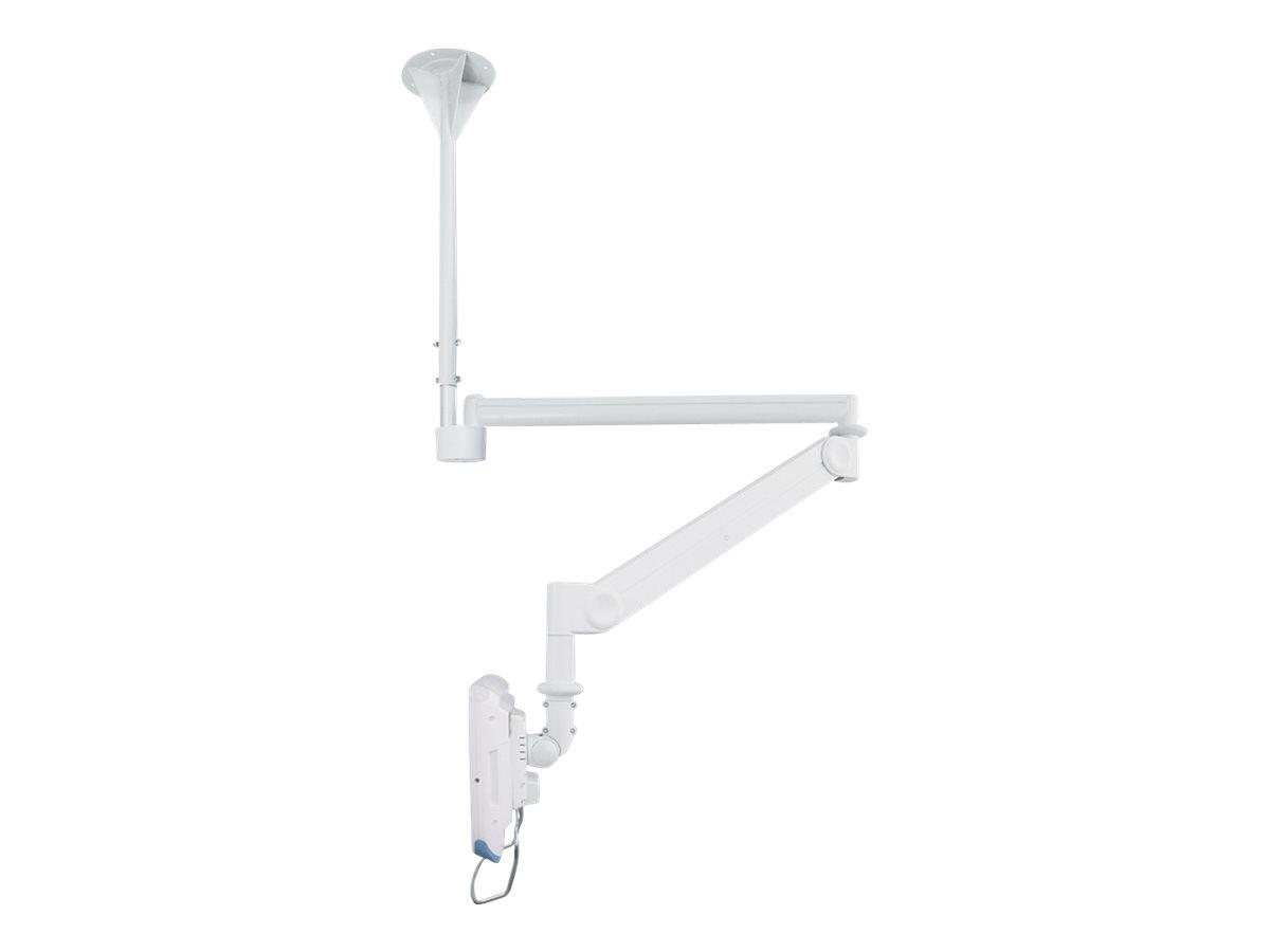 NewStar FPMA-HAC100HC - Klammer für LCD-Display (full-motion) - medizinisch - weiss - Bildschirmgrösse: 25.4-81.3 cm (10