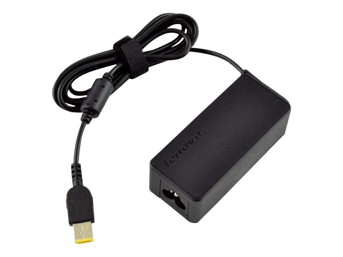 [Neue beschädigte Verpackung] Lenovo ThinkPad 45W AC Adapter (Slim Tip) - Netzteil - 45 Watt - Europa - für ThinkPad Helix; Thin