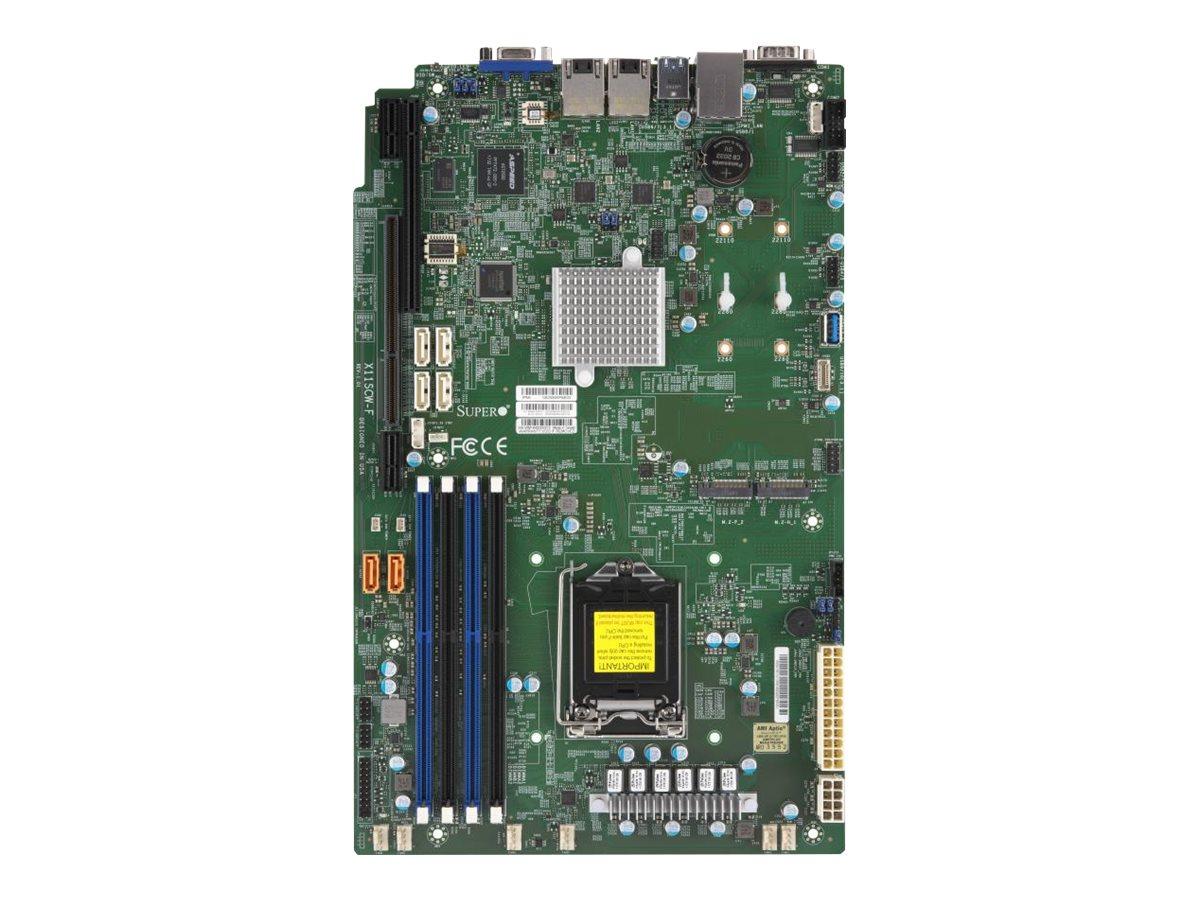 SUPERMICRO X11SCW-F - Motherboard - LGA1151 Socket - C246 - USB 3.1 Gen 1, USB 3.1 Gen 2 - 2 x Gigabit LAN