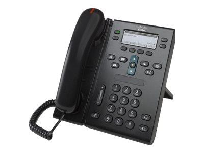 Cisco Unified IP Phone 6945 Standard - VoIP-Telefon - SCCP, SIP, SRTP - mehrere Leitungen - Anthrazit
