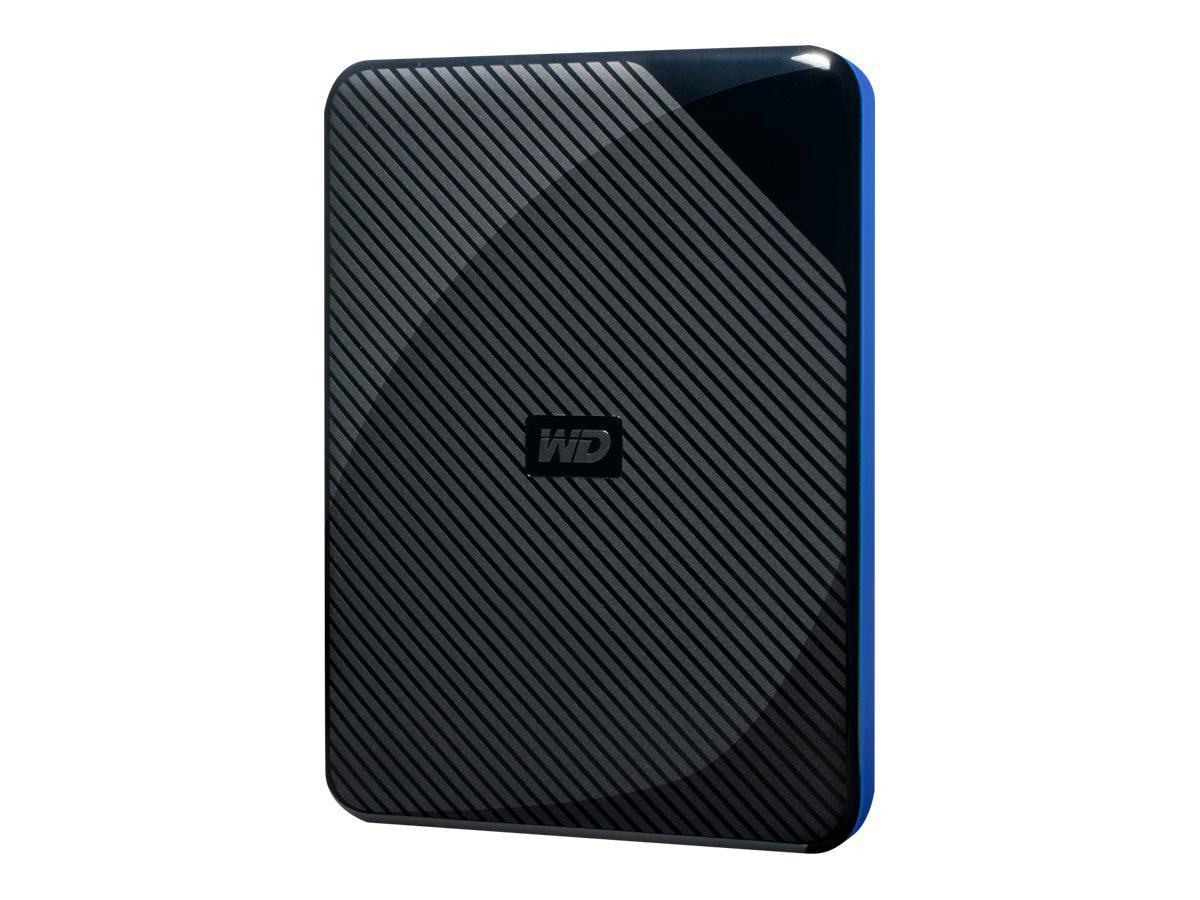 WD Gaming Drive WDBDFF0020BBK - Festplatte - 2 TB - extern (tragbar) - USB 3.0 - oben schwarz und unten blau