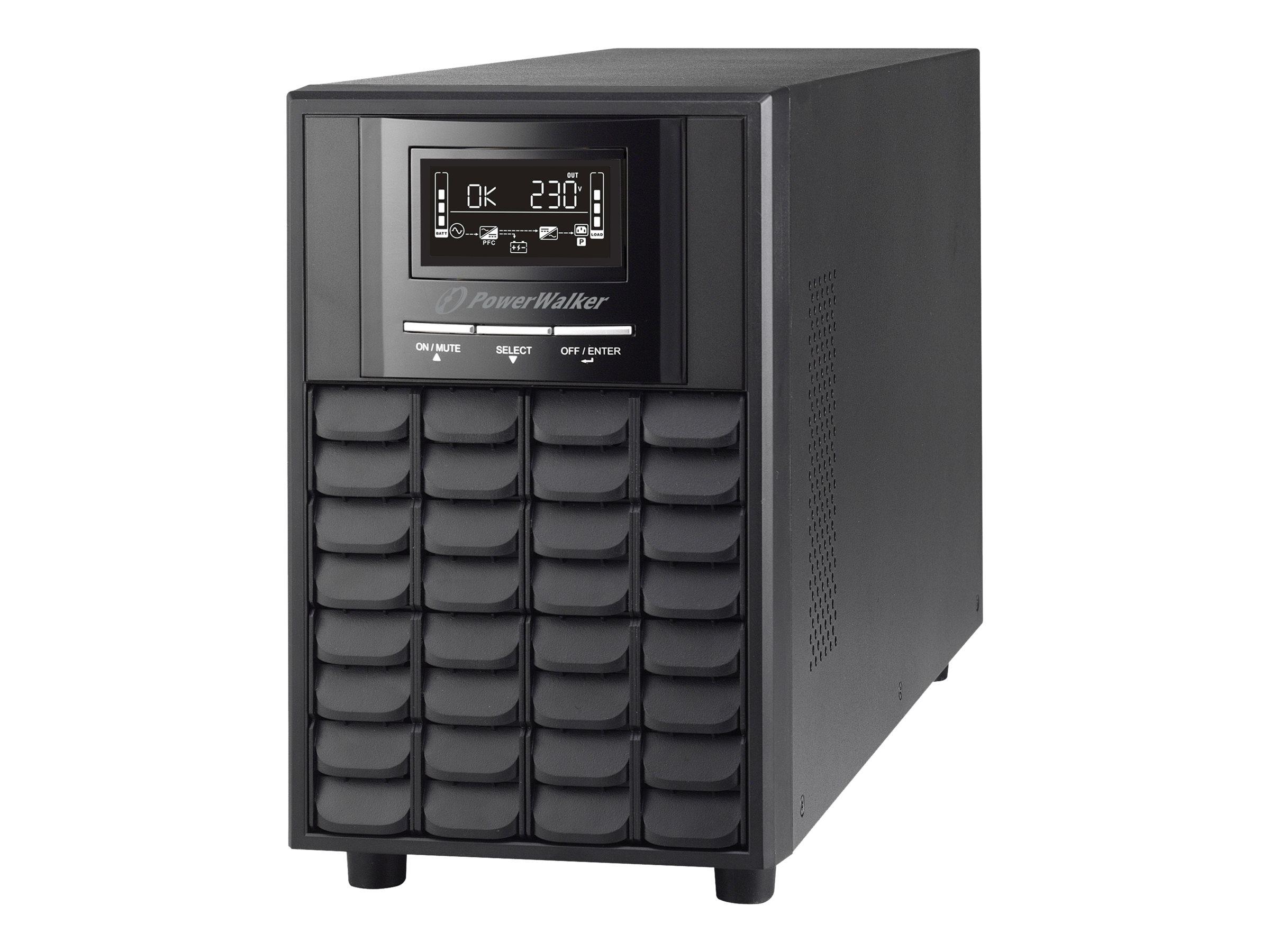 PowerWalker VI 3000 CW - USV - AC 162 - 290 V - 2100 Watt - 3000 VA 9 Ah