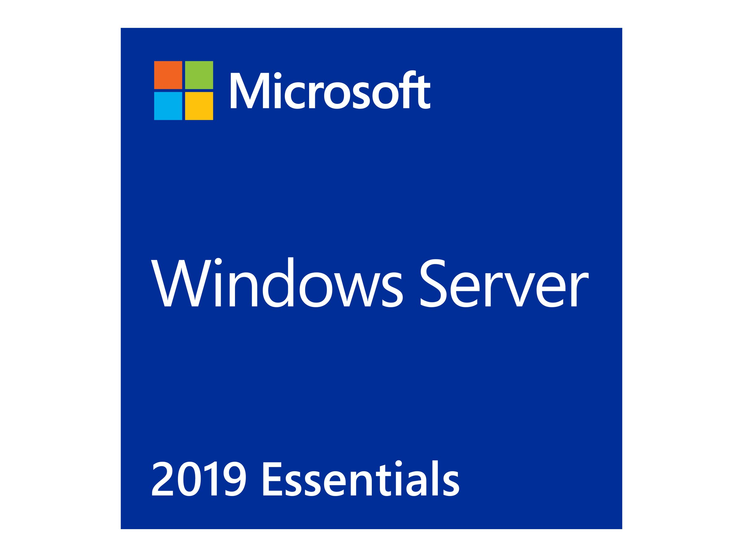 Microsoft Windows Server 2019 Essentials - Lizenz - 1 Lizenz - OEM - ROK - Multilingual