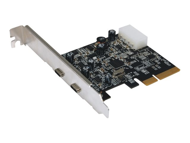 M-CAB - USB-Adapter - PCIe 3.0 x1 / PCIe 2.0 x2 Low-Profile - USB-C 3.1 x 2