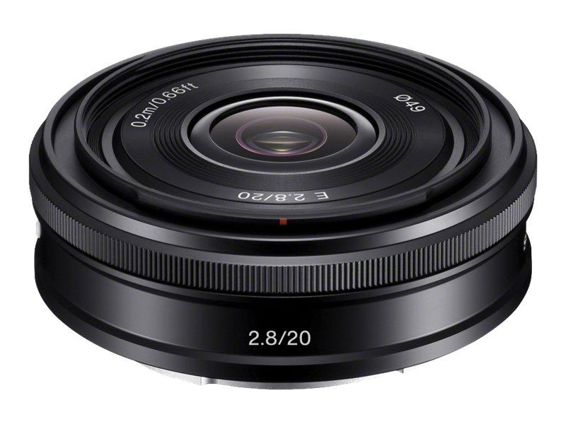 Sony SEL20F28 - Weitwinkelobjektiv - 20 mm - f/2.8 - Sony E-mount