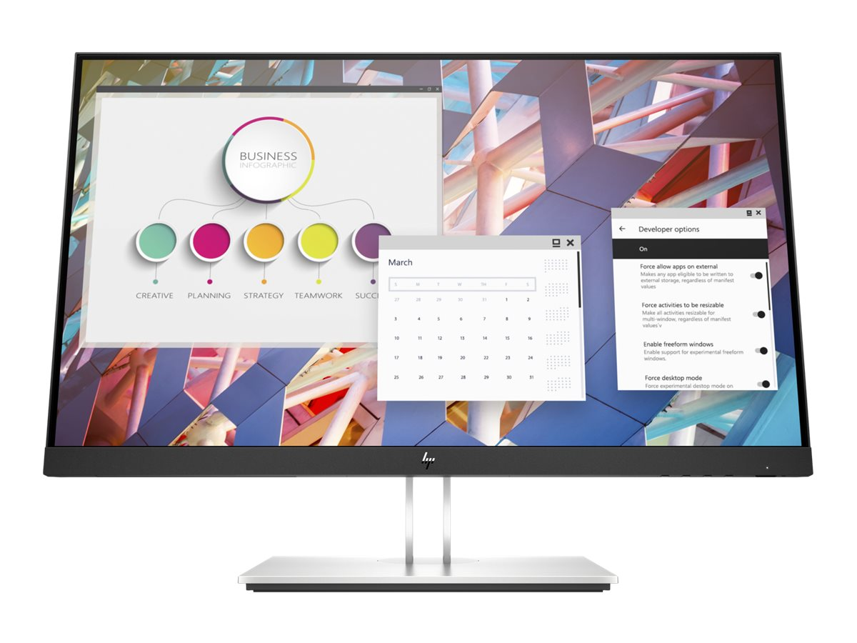 HP E24 G4 - E-Series - LED-Monitor - 60.5 cm (23.8