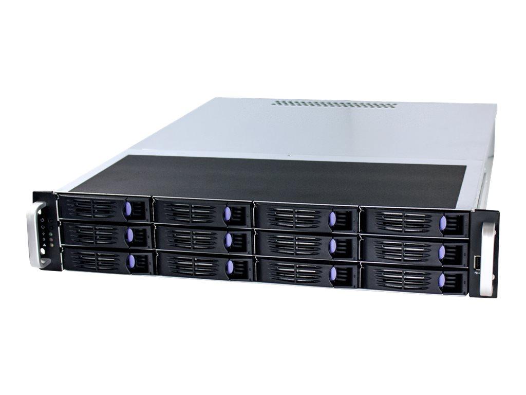 FANTEC SRC-2012X07 - Rack - einbaufähig - 2U - SSI CEB - SATA/SAS