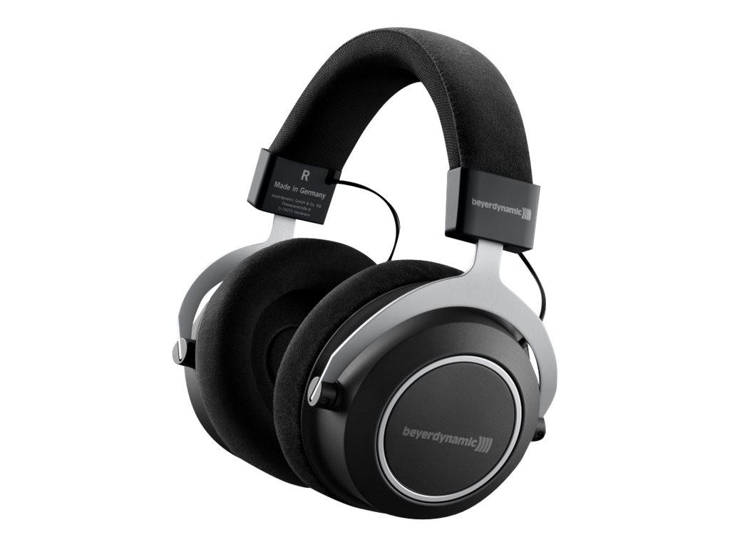 beyerdynamic Amiron Wireless - Kopfhörer mit Mikrofon - ohrumschliessend - Bluetooth - kabellos