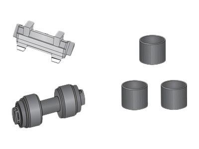 Alaris - Scanner - Verbrauchsmaterialienkit - für Alaris E1025, E1035