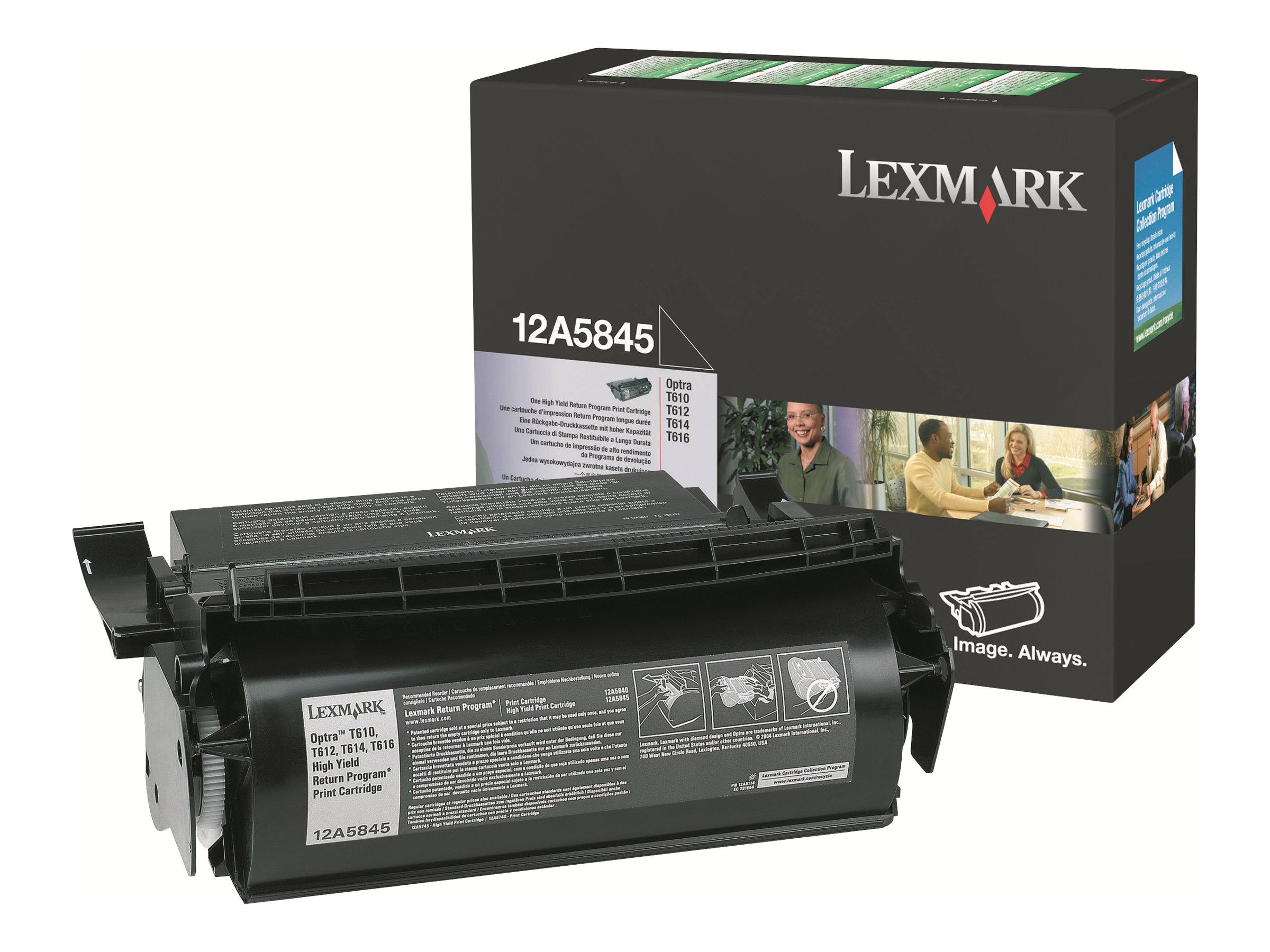 Lexmark - Schwarz - Original - Tonerpatrone LRP - für Optra T610, T612, T614, T616