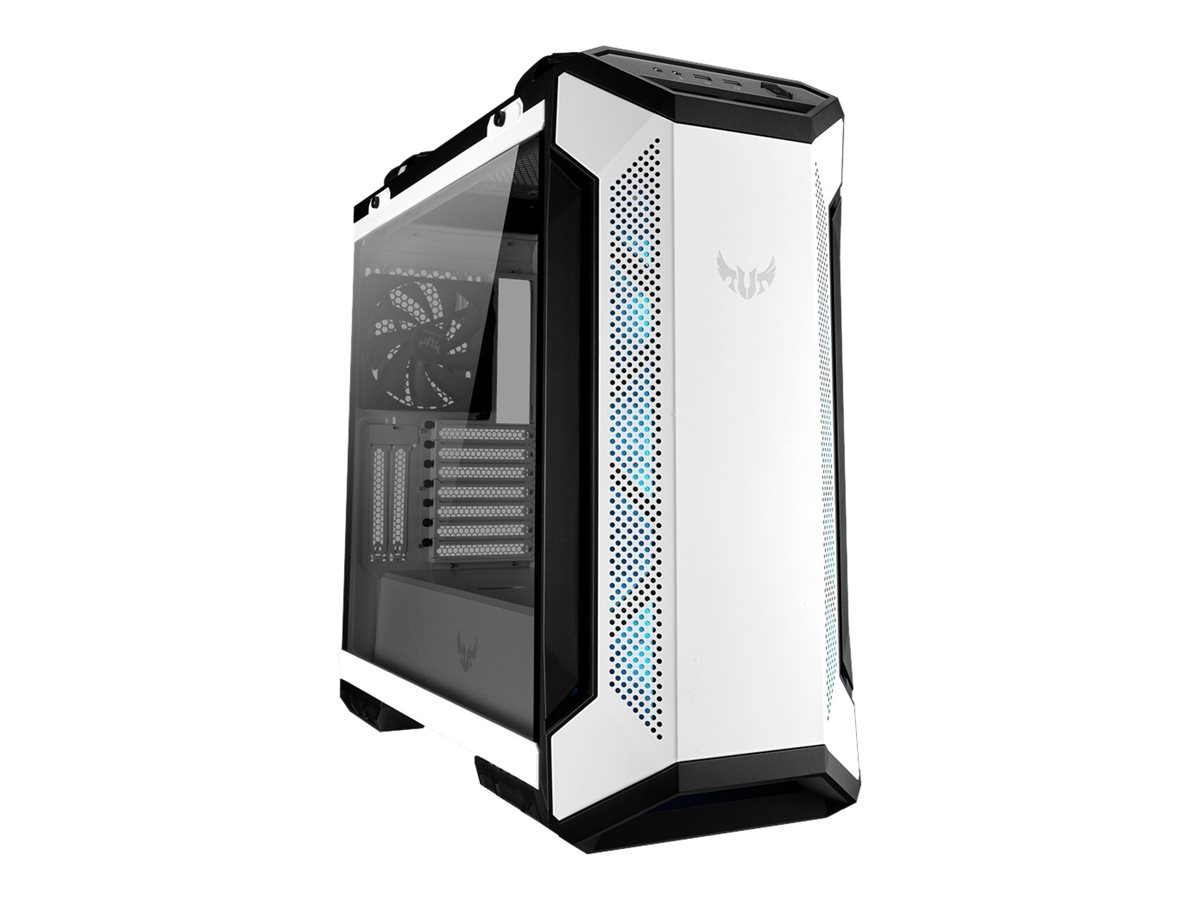 ASUS TUF Gaming GT501 - White Edition - Tower - ATX - ohne Netzteil - weiss