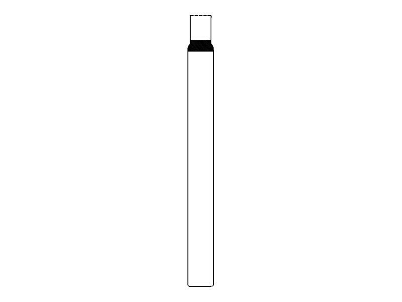 Intermec IN-Band - 25.4 x 279.4 mm 500 Etikett(en) (2 Rolle(n) x 250) Armbandetiketten