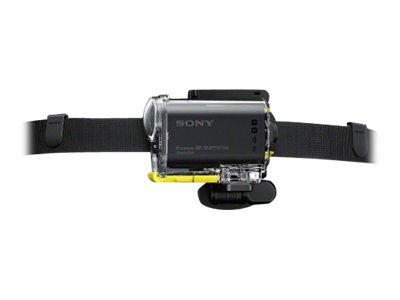 Sony BLTUHM1 - Stützsystem - Stirnbandmontage - für Action Cam-FDR-X1000, X3000, HDR-AS10, AS15, AS20, AS200, AS30, AS300, AS50