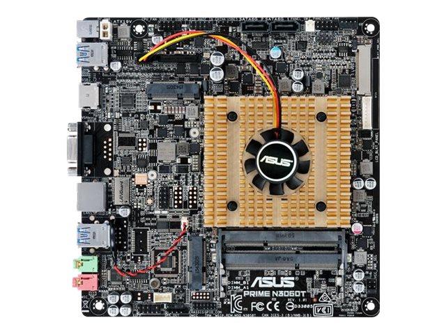 ASUS PRIME N3060T - Motherboard - Thin mini ITX - Intel Celeron N3060 - USB 3.0 - Gigabit LAN