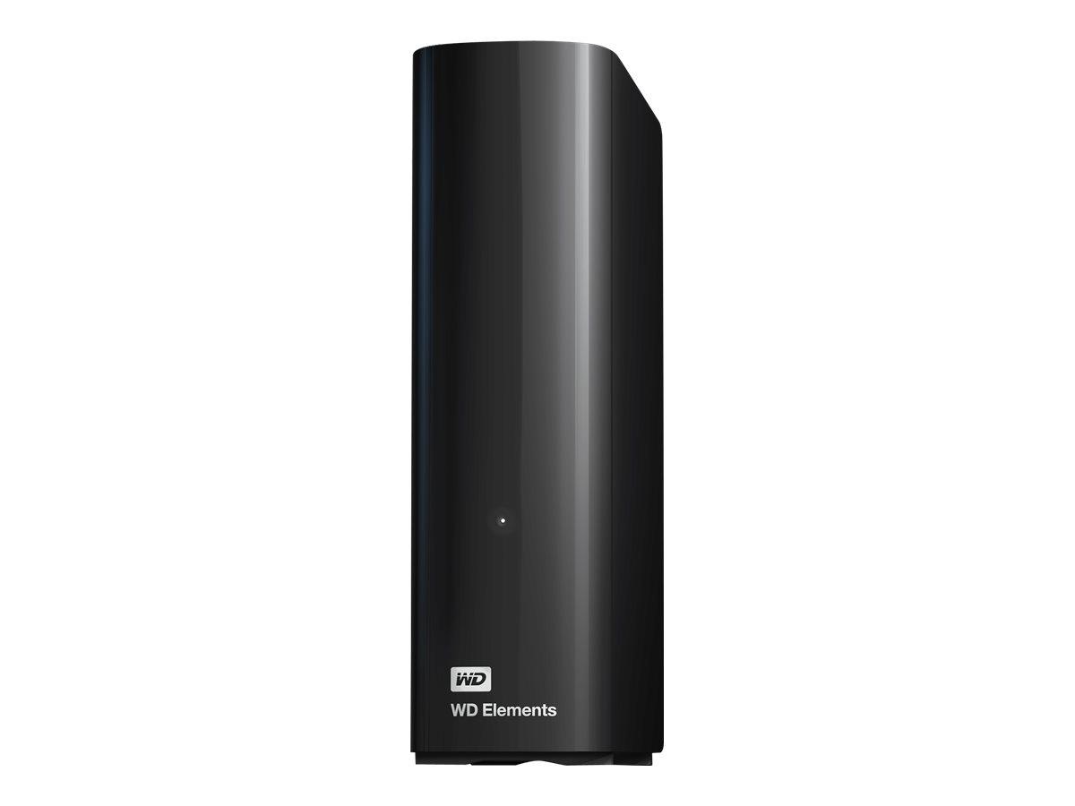 WD Elements Desktop WDBWLG0160HBK - Festplatte - 16 TB - extern (Stationär) - USB 3.0 - Schwarz