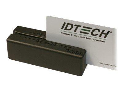 ID TECH MiniMag Duo - Magnetkartenleser (Spuren 1, 2 & 3) - USB - Schwarz