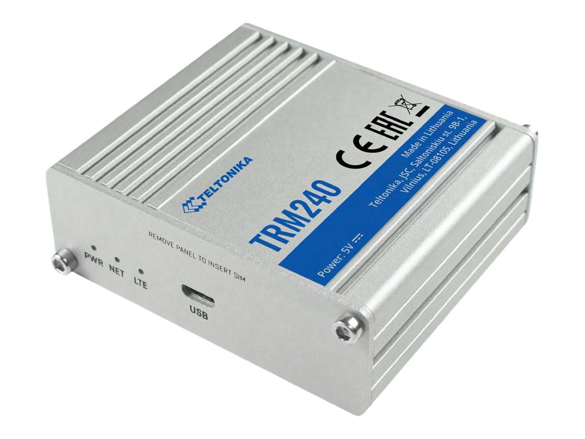Teltonika TRM240 - Drahtloses Mobilfunkmodem - 4G LTE - USB