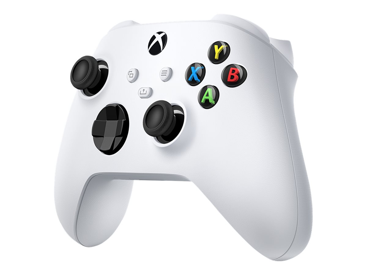 Microsoft Xbox Wireless Controller - Game Pad - kabellos - Bluetooth - Roboter weiss - für PC, Microsoft Xbox One, Android, Micr