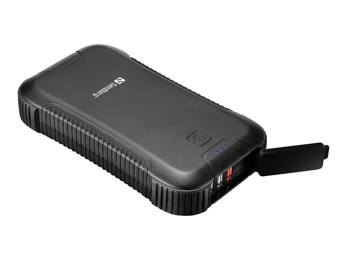 Sandberg Survivor PD45W - Powerbank - 30000 mAh - 111 Wh - 3 A - QC 3.0