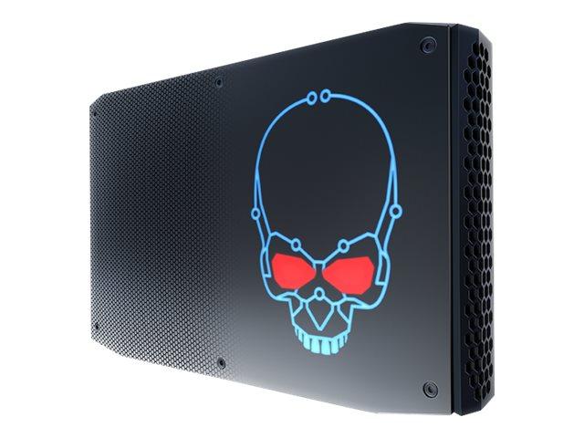 Intel Next Unit of Computing Kit NUC8i7HNKQC - Business - Barebone - Mini-PC - 1 x Core i7 8705G / 3.1 GHz - RAM 16 GB