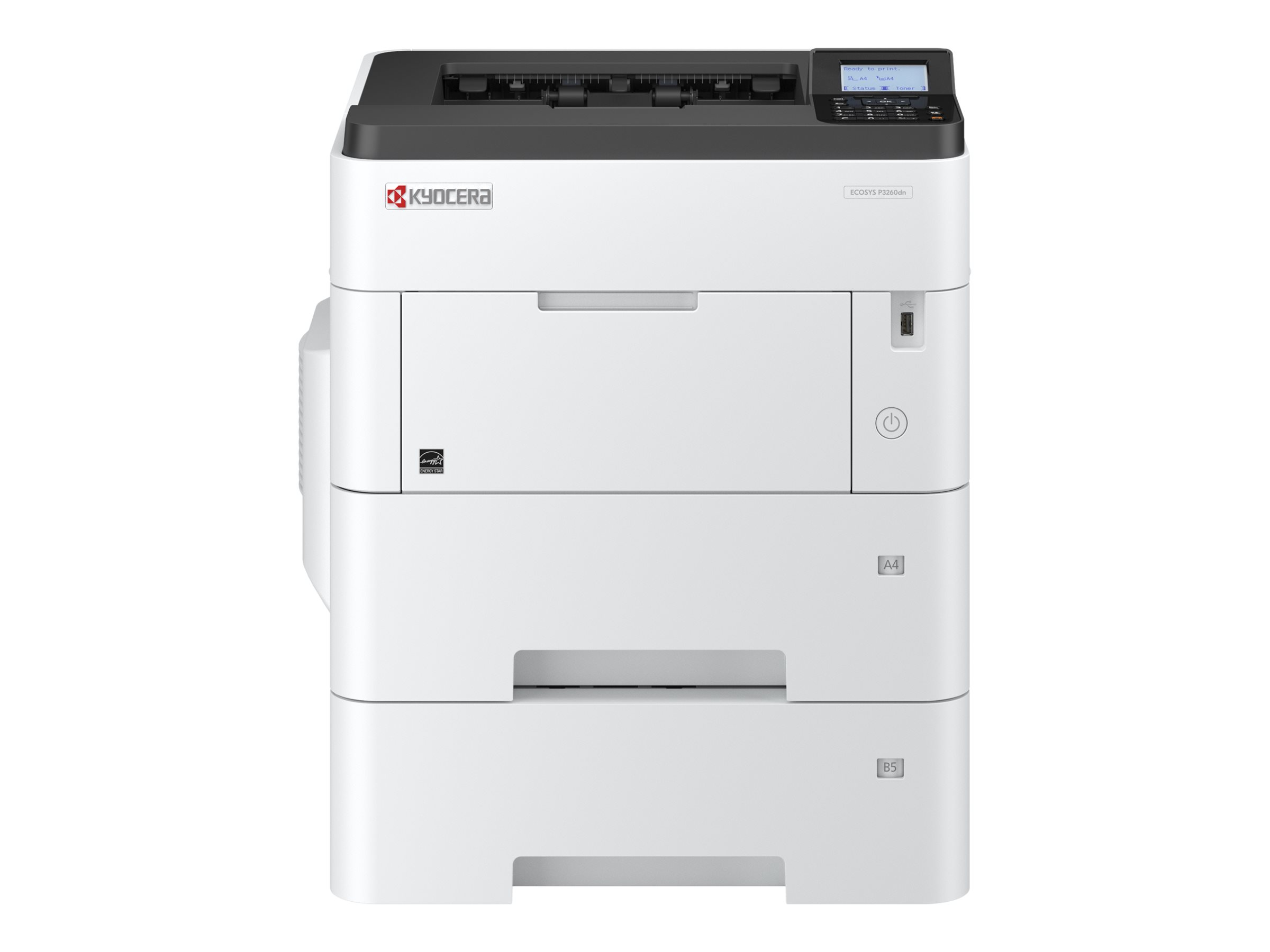 Kyocera ECOSYS P3260dn - Drucker - s/w - Duplex - Laser - A4/Legal