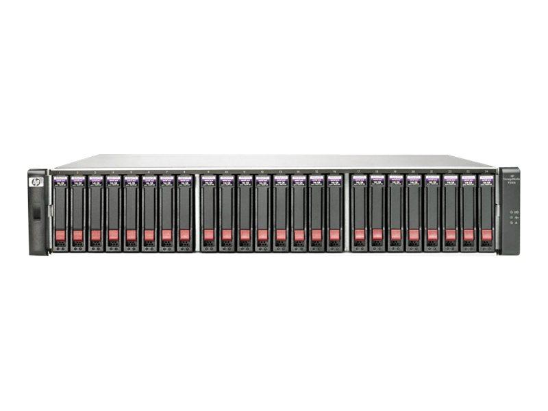 HPE Modular Smart Array P2000 2.5-in Drive Bay Chassis - Speichergehäuse - 24 Schächte (SATA-300 / SAS-2) - Rack - einbaufähig -