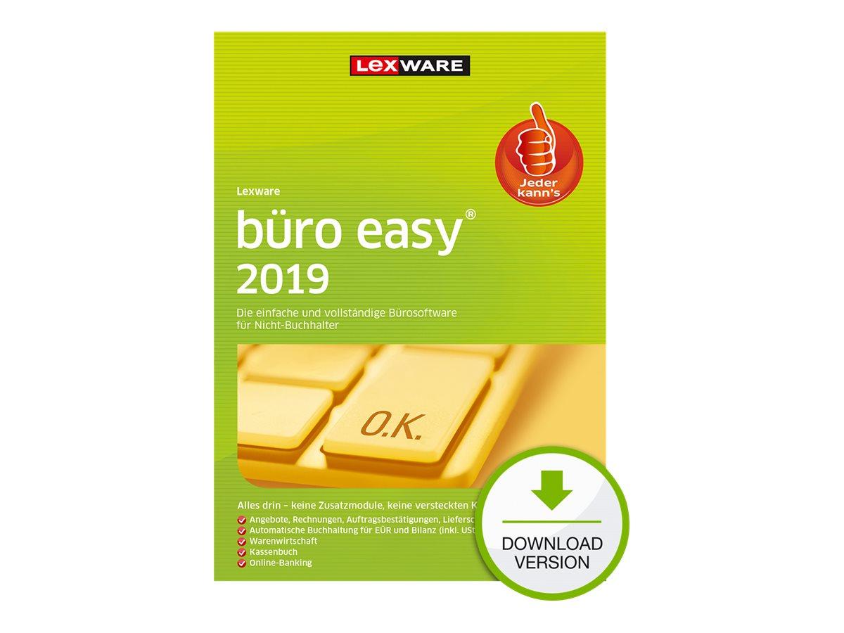 Lexware büro easy 2019 - Abonnement-Lizenz (1 Jahr) - 1 Benutzer - Download - ESD - Deutsch