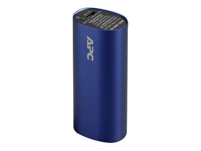APC Mobile Power Pack - Powerbank - 3000 mAh - 1 A (USB) - Blau