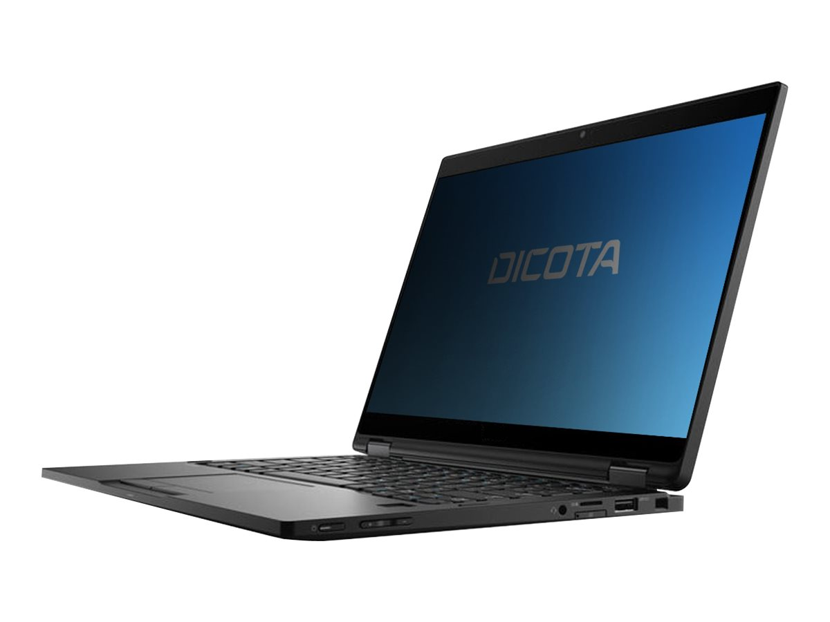 DICOTA Secret 4-Way - Notebook-Privacy-Filter - Schwarz, durchsichtig - für Dell Latitude 7389 2-in-1, 7390 2-in-1