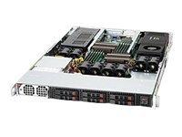 Supermicro SC118G 1400B - Rack - einbaufähig - 1U - SATA/SAS - Hot-Swap 1400 Watt