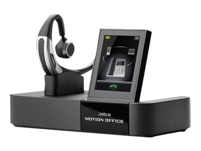 Jabra Motion Office MS - Headset - Ohrstöpsel - über dem Ohr angebracht - Bluetooth - kabellos