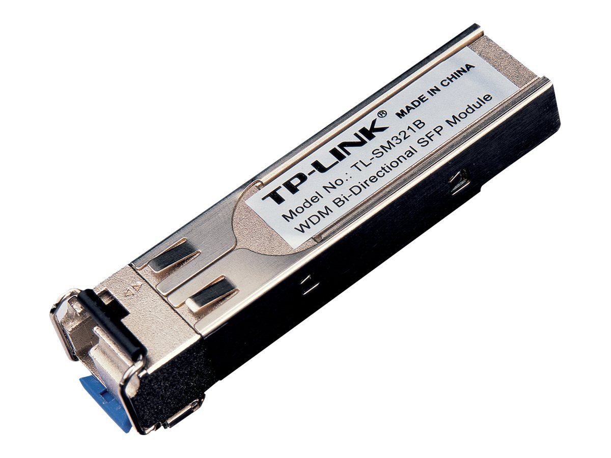 TP-Link TL-SM321B - SFP (Mini-GBIC)-Transceiver-Modul - GigE - 1000Base-BX - LC/UPC Einzelmodus - bis zu 10 km