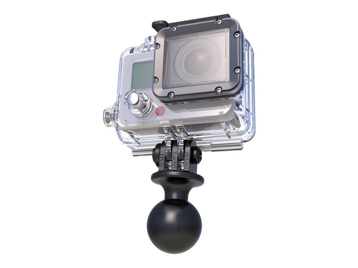 RAM RAP-B-202U-GOP1 - Montage-Adapter - für GoPro HERO Session; HERO+; HERO+ LCD; HERO4 Session; TomTom Bandit; Veho muvi K-Seri