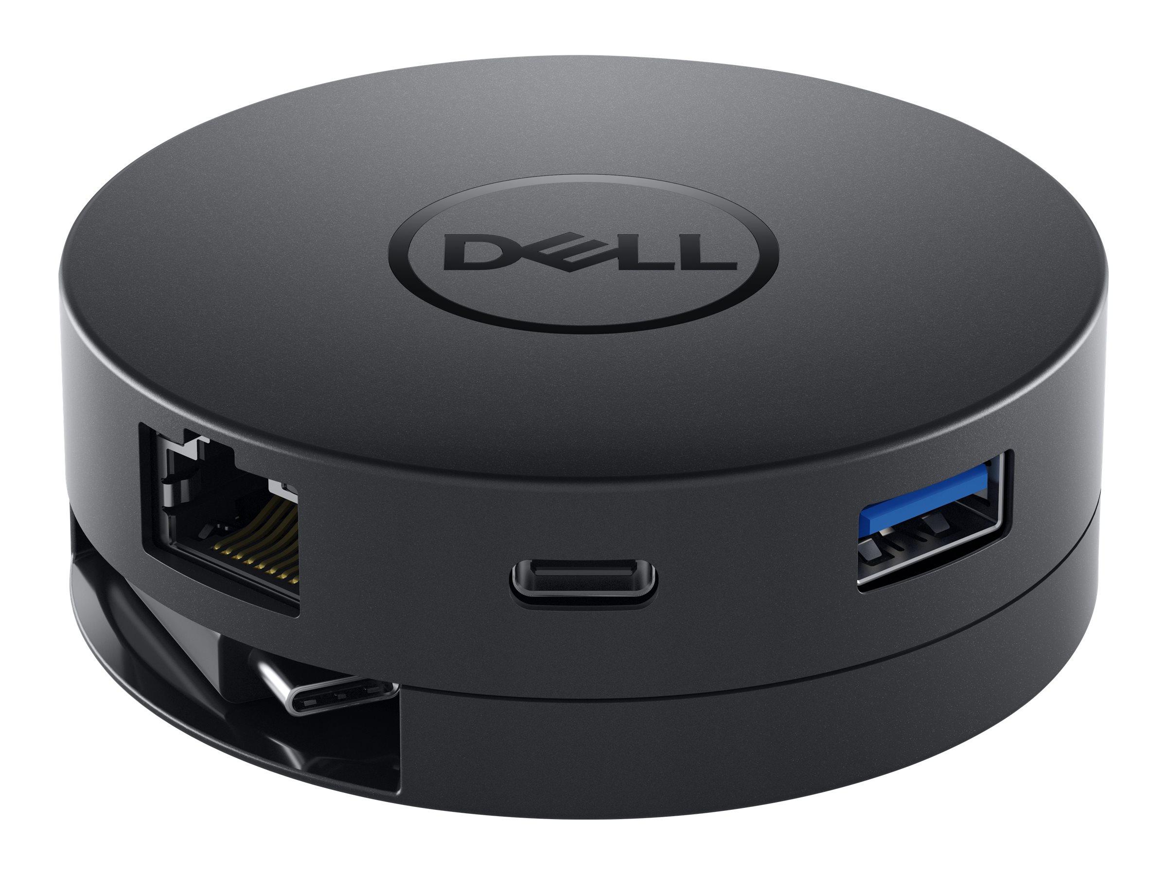 Dell Mobile Adapter DA300 - Dockingstation - USB-C - VGA - GigE - für Latitude 3120, 53XX, 54XX, 55XX, 73XX, 74XX, 7520; Precisi