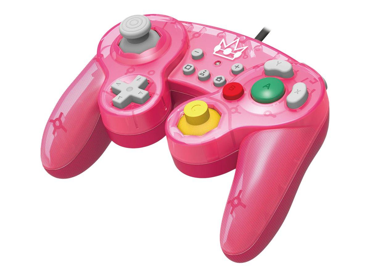 HORI Battle Pad (Peach) - Game Pad - kabelgebunden - für Nintendo Switch