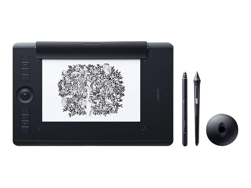 Wacom Intuos Pro Paper Edition Medium - Digitalisierer - 22.4 x 14.8 cm - Multi-Touch - elektromagnetisch - kabellos, kabelgebun